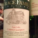 GRACE FAMILY Cabernet Sauvignon Napa Valley 1993