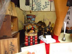 綾傘鉾 模型