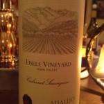 ARAUJO Cabernet Sauvignon Eisele Vineyard Napa Valley 1992
