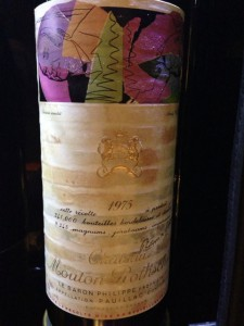 【赤】Ch. Mouton Rothschild 1975