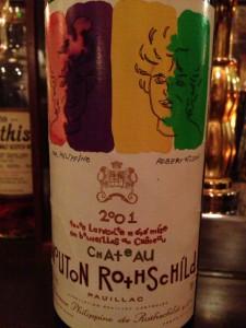 Ch.Mouton Rothschild 2001