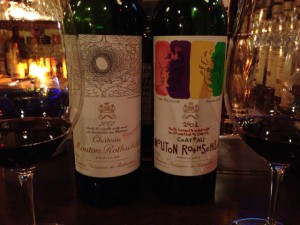 Ch.Mouton Rothschild 飲み比べ