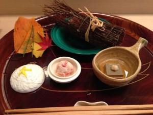 【先附け】蒸し蟹と蟹の酢の物
