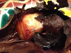 【焼き物】鰆の朴葉焼き