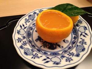 【冷菓子】オレンジの流し物