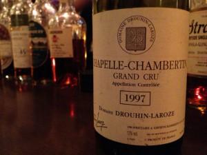 【赤】Domaine Drouhin-Laroze Chapelle-Chambertin 1997