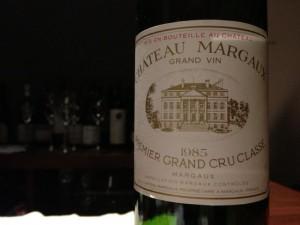 Ch.margaux 1985