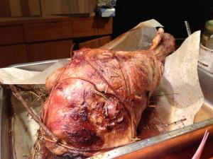 仔羊モモ肉のロースト
