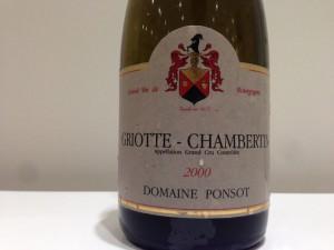 Domaine Ponsot Griotte-Chambertin Grand Cru 2000