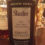 【赤】Shafer Hillside SELECT Cabernet Sauvignon Napa Valley Stags Leap District 1995