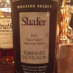 【赤】Shafer Hillside SELECT Cabernet Sauvignon Napa Valley Stags Leap District 1995