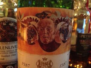 【赤】Ch.Mouton Rothschild 1987
