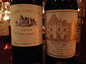 Ch.Haut-Brion飲み比べ