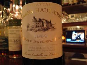 【赤】Ch.Bahans Haut-Brion 1999