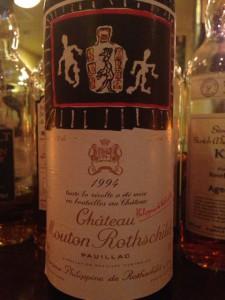 【赤】Ch.Mouton Rothschild 1994