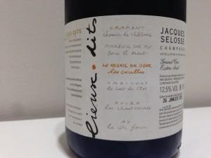 【泡】Domaine Jacques Selosse Lieux-Dits Mesnil sur Oger Les Carelles NV