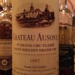 【赤】Ch.Ausone 1997