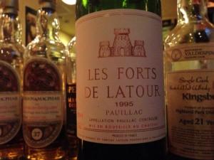 【赤】Les Forts de Latour 1995