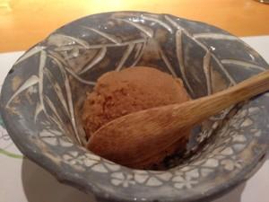 紅茶のシャーベット