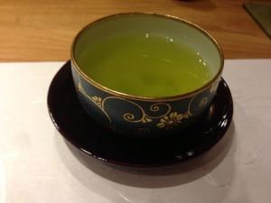 緑茶でほっこり