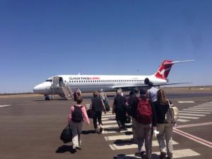 Sydney→Ayers Rock