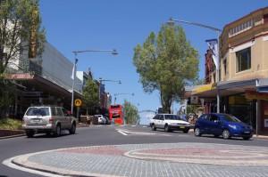 Katoomba駅前