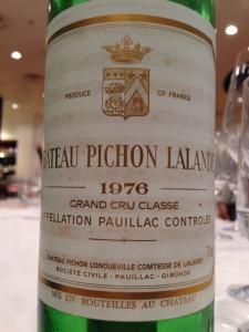 Ch.Pichon Longueville Comtesse de Lalande 1976