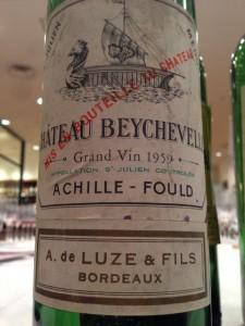 Ch.Beychevelle 1959