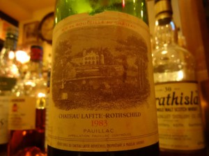 【赤】Ch.Lafite Rothschild 1983