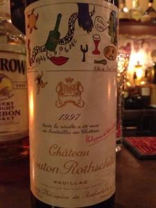 【赤】Ch.Mouton Rothschild 1997