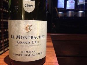 【白】Domaine Fontaine Gagnard Le Montrachet 2009