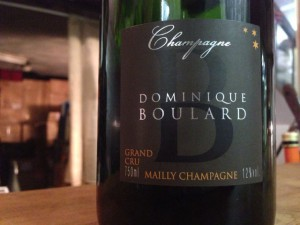 【泡】Champagne Dominique BOULARD Grand Cru Brut NVrge