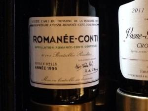 【赤】D.R.C. Romanee Conti 1996