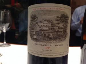 【赤】Ch.Lafite Rothschild 1995