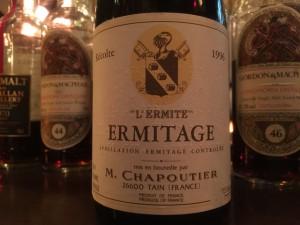 【赤】M.Chapoutier ERMITAGE -L'ermite- 1996