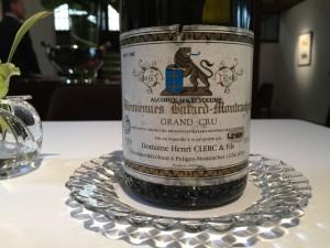 【白】Domaine Henri Clerc Bienvenues Batard Montrachet 1991