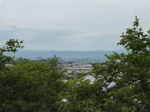 奈良盆地を望む
