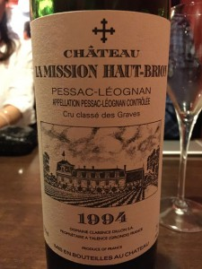 【赤】Ch.La Mission Haut-Brion 1994