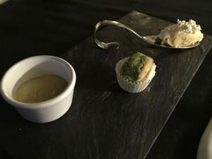 Tiramisù di baccalà e patate con lardo di cinta senese (2008)