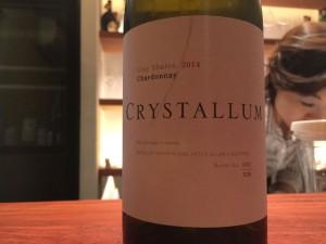 【白】Crystallum W.O.Overberg Clay Shales Chardonnay 2014