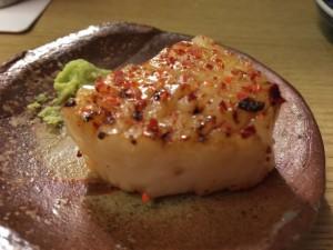 タイラギ貝の一味焼き