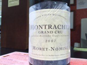 Moret Nomine Montrachet 2007