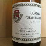 【白】Pierre Ponnelle Corton-Charlemagne 1985