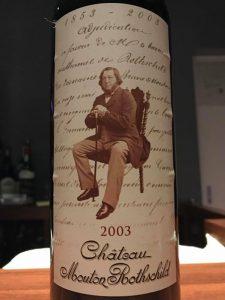 Ch. Mouton Rothschild 2003