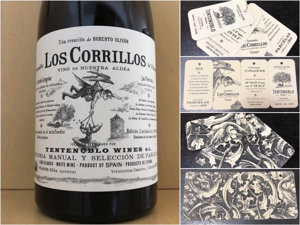 白】Tentenublo Wines S.L. Los Corrillos 2016